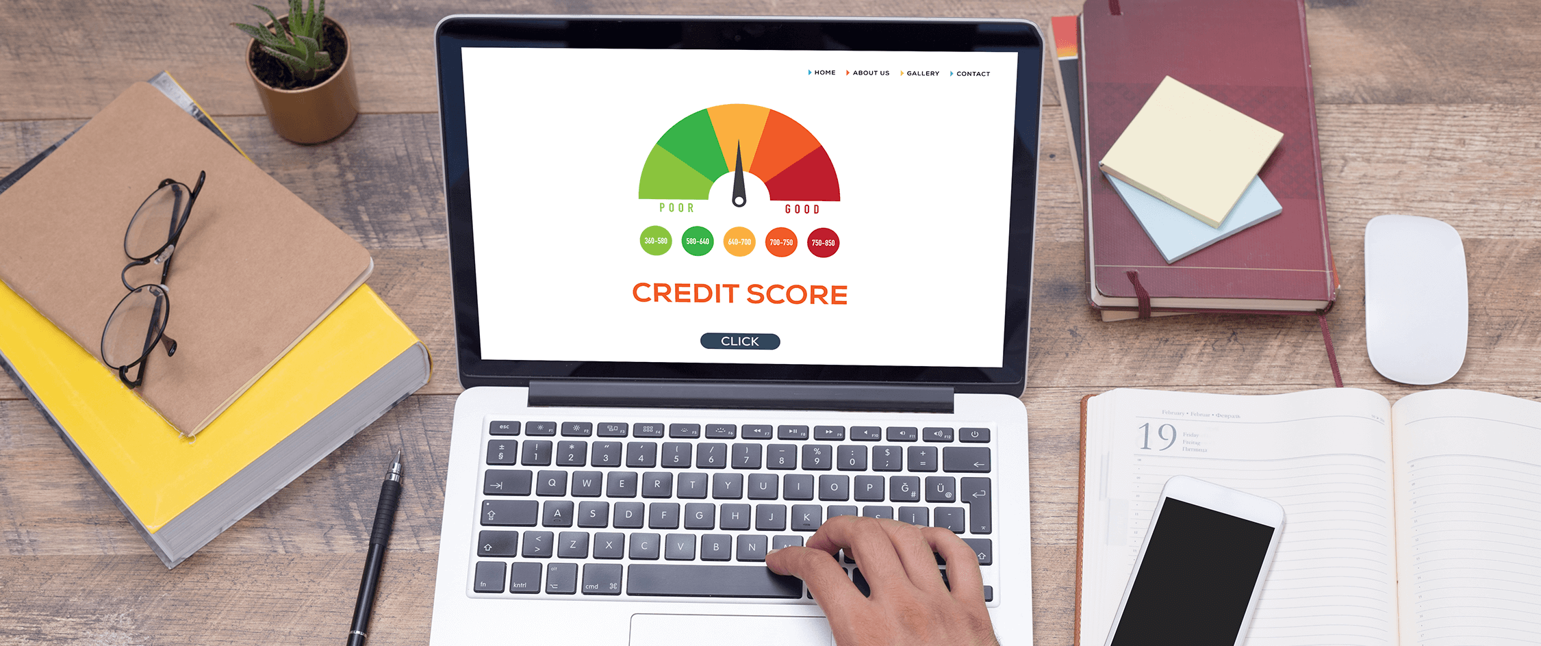 What impacts my credit score?